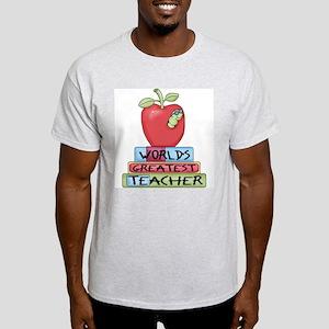 Worlds Greatest Teacher Light T-Shirt