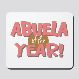 Abuela of the Year Mousepad