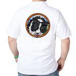 Mac's Golf Shirt, front & back