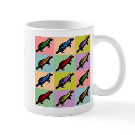 Honey Badger Pop Art Coffee Mug