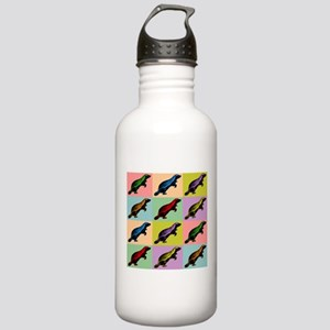 Honey Badger Pop Art Stainless Water Bottle 1.0L