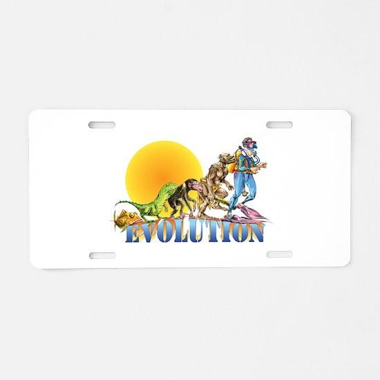 Scuba Evolution Aluminum License Plate