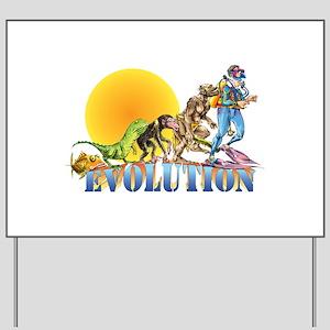 Scuba Evolution Yard Sign