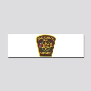 San Juan County Sheriff Car Magnet 10 x 3