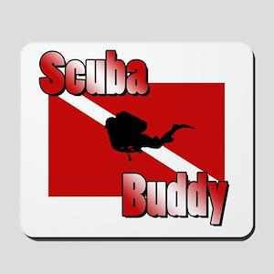 Scuba Buddy Mousepad