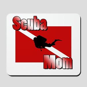 Scuba Mom Mousepad