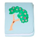 Tree of Love baby blanket