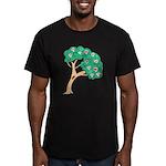 Tree of Love Men's Fitted T-Shirt (dark)