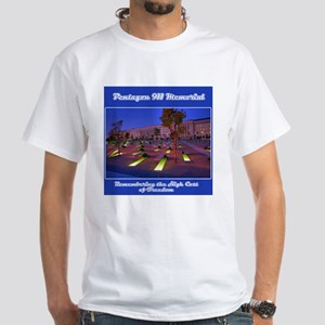 Pentagon 911 Memorial White T-Shirt