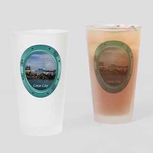 Coco Cay Cruise Ship Drinking Glass