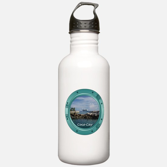 Coco Cay Cruise Ship Water Bottle