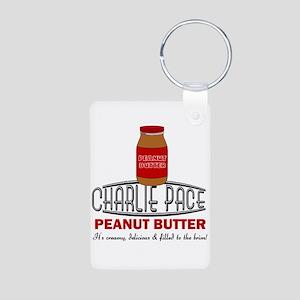 Charlie Peanut Butter Aluminum Photo Keychain