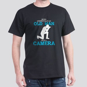 Never Underestimate An Old Man T Shirt, Ca T-Shirt