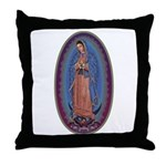 12 Lady of Guadalupe Throw Pillow
