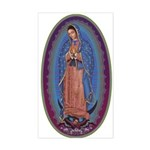 12 Lady of Guadalupe Sticker (Rectangle)