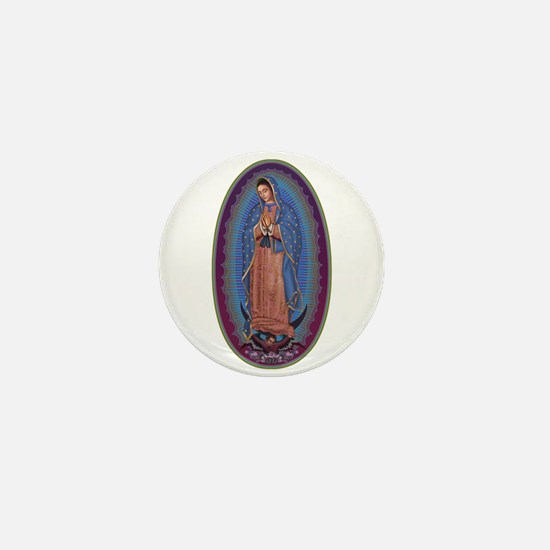 12 Lady of Guadalupe Mini Button