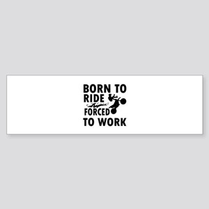 Born to Ride Bike Sticker (Bumper)