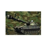 M109a3 Us Woodland Magnets