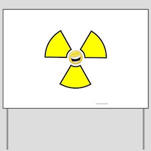 Nuclear Happy Yard Sign