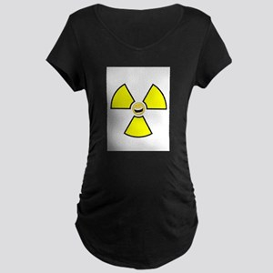 Nuclear Happy Maternity Dark T-Shirt