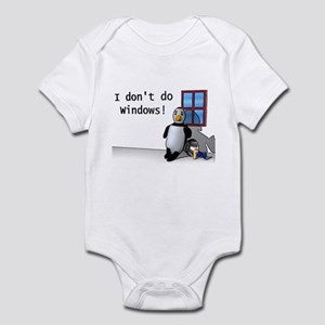 I Don't Do Windows Infant Creeper