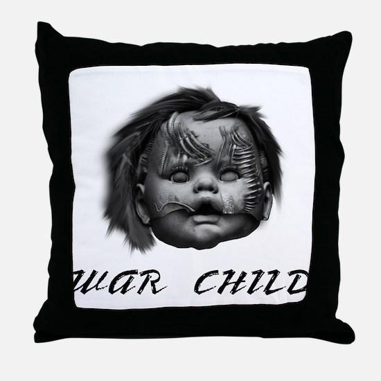 War Child Throw Pillow