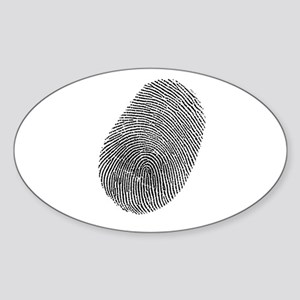 Fingerprint Vinyl Sticker
