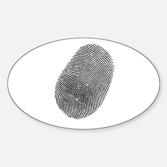 Fingerprint Vinyl Decal