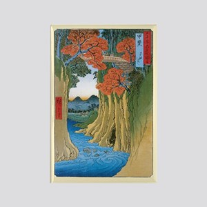 Autumn in Old Edo Rectangle Magnet