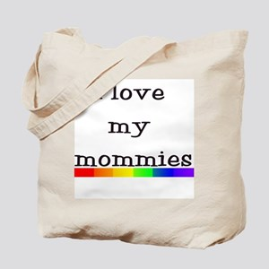 Full rainbow haha I have two mommies Tote Bag