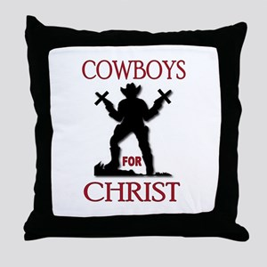SALVATION TRAIL Throw Pillow
