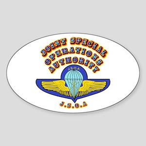 SOF - JSOA Sticker (Oval)