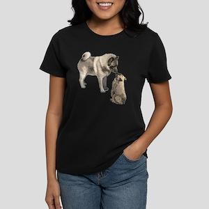 Norwegian Elkhound mother Women's Dark T-Shirt