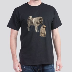 Norwegian Elkhound mother Dark T-Shirt