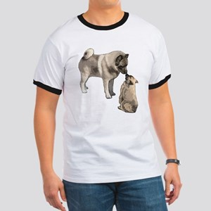 Norwegian Elkhound mother Ringer T