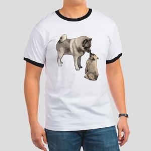 Norwegian Elkhound mother Ringer T