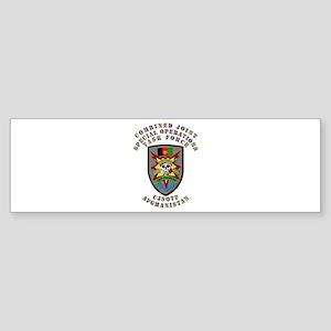 SOF - CJSOTF - Afghanistan Sticker (Bumper)
