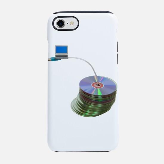 DataStorage070709.png iPhone 7 Tough Case