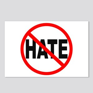 NO HATE Postcards (Package of 8)