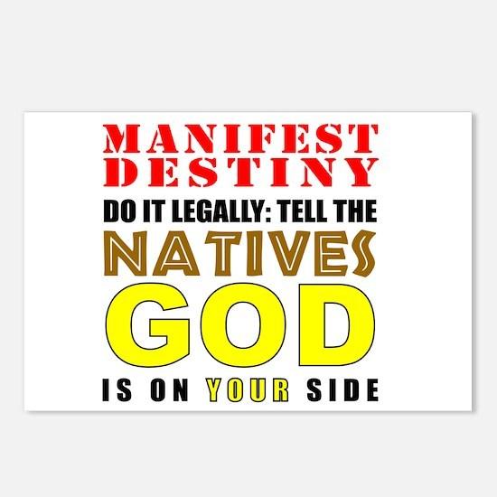 Manifest Destiny Postcards (Package of 8)