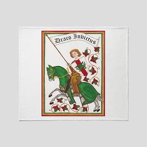 Draco Invictus Throw Blanket