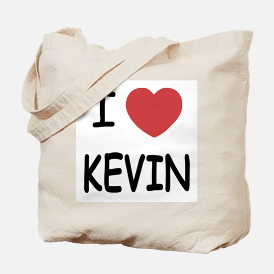 I heart kevin Tote Bag