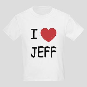 I heart jeff Kids Light T-Shirt