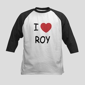 I heart roy Kids Baseball Jersey