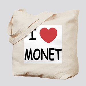 I heart monet Tote Bag
