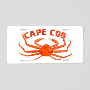 Cape Cod Crab Aluminum License Plate