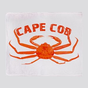 Cape Cod Crab Throw Blanket