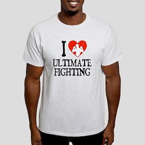 I Heart Ultimate Fighting Light T-Shirt