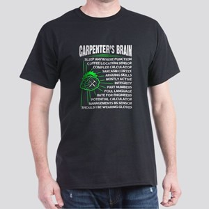 Carpenter's Brain T Shirt, Brain T Shi T-Shirt