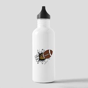 Football Burster Stainless Water Bottle 1.0L